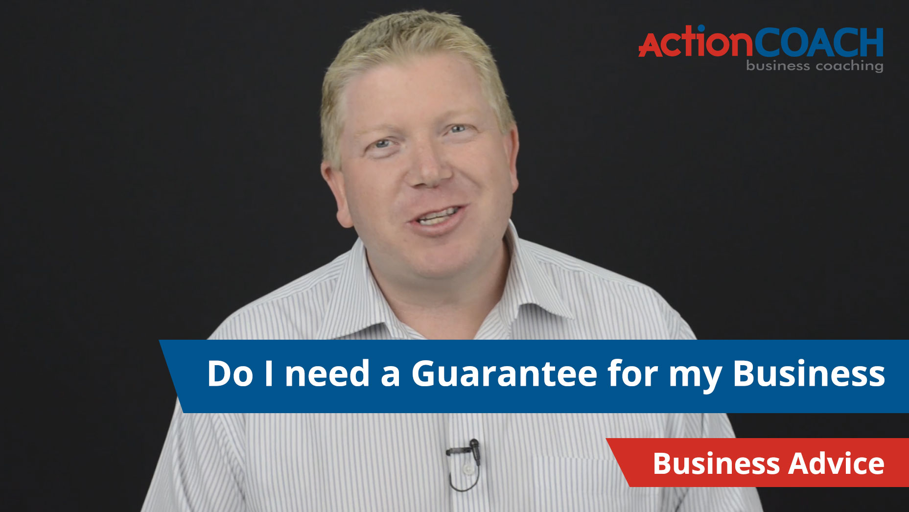 Do I really need a guarantee for my business?