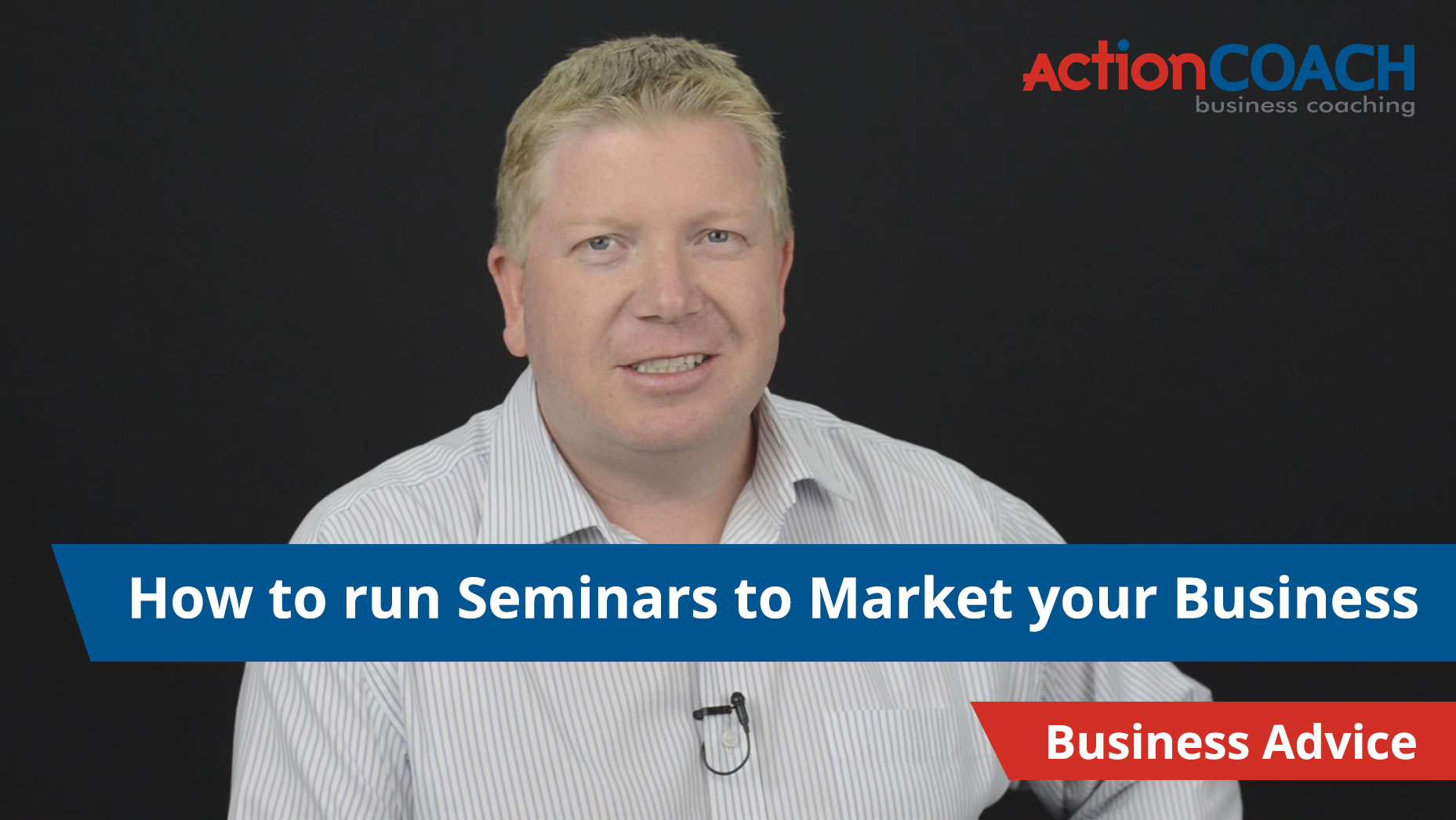 How to run a seminar to market your business