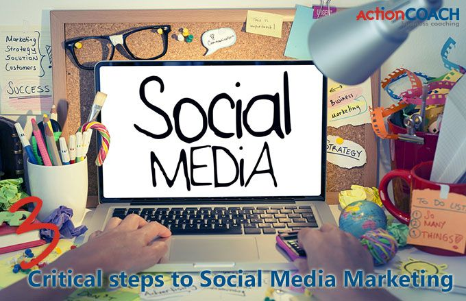 The 3 Critical Steps of Social Media Marketing